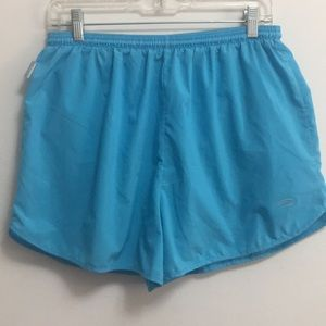 Brooks Blue (light)  Athletic Shorts (L)